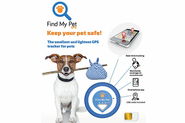 Find My Pet Nano homepage