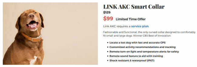 LINK AKC pricing