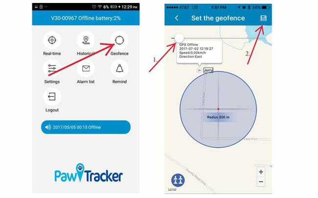 Paw Tracker App