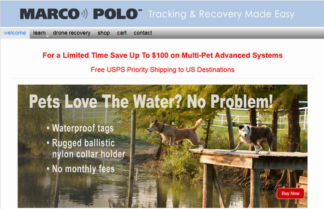 Marco Polo homepage