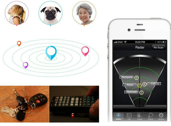 Daxin Smart Bluetooth Tracer app