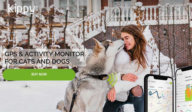 Kippy-Vita-S printscreen homepage
