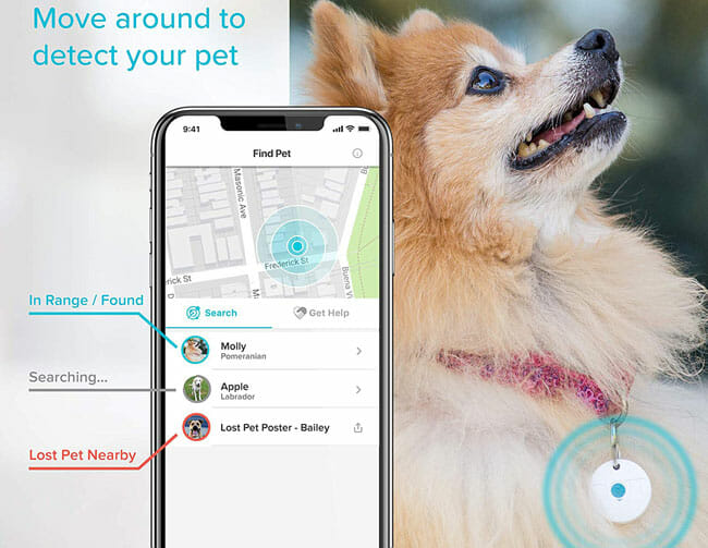 DOTT Pet Tracker find pet app