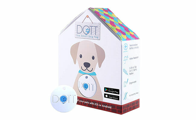 DOTT Pet Tracker product box