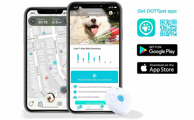 DOTT Pet Tracker smart app