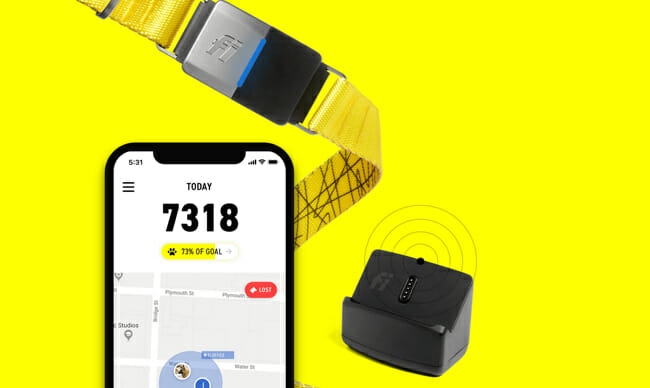 fi pet tracker smart phone app